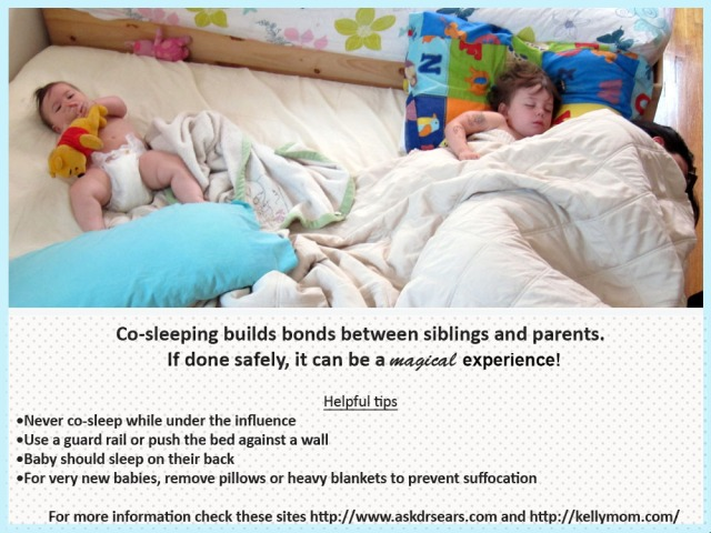 baby bed sharing copy